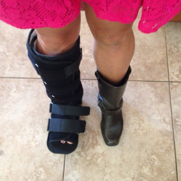 Suggestions Online | Images of Broken Ankle Boot